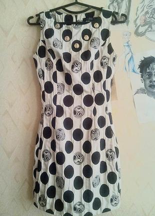 d18cc43bef6 Женские платья с принтом монет 2019 - купить недорого вещи в ...