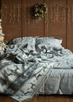 Небеленый натуральный лен 100 % - льняное постельное белье