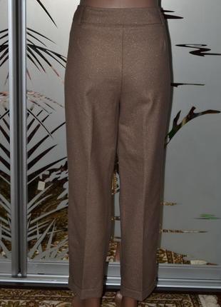 Оригинальные брюки люрикс