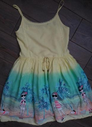 Платье george сарафан 10-11лет 140-146см в отличном состоянии