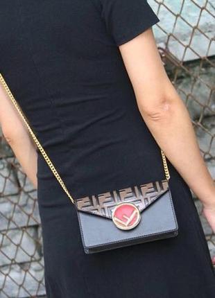 Многофункциональная сумка / клатч / поясная сумка fendi