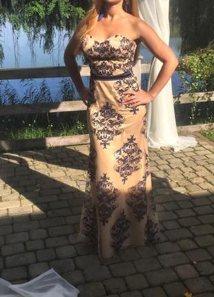 Вечірня довга сукня/платье