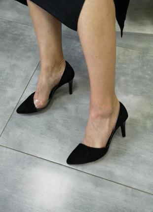 Замшевые эксклюзивные туфли