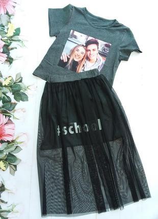 Модный детский комплект для девочки1 фото