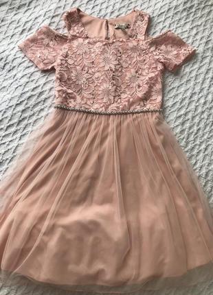 Нарядное,нежное платье для девочки подростка