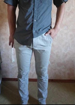Ускачі сірі штани
