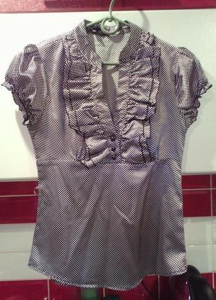 Блуза фирменная рахмер s