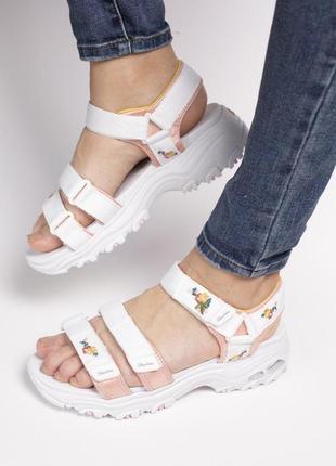 Шикарные женские сандали/ босоножки на платформе puma skechers sandal 😍