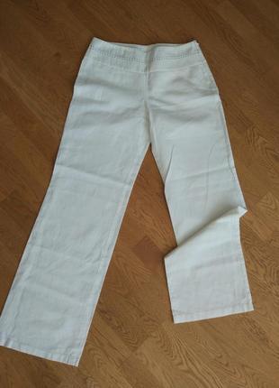 Льняные брючки штаны ( и топ)  s-m