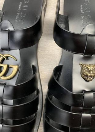 Стильные мужские кожаные сандалии2 фото