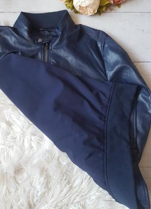 Кожаный пиджак3 фото