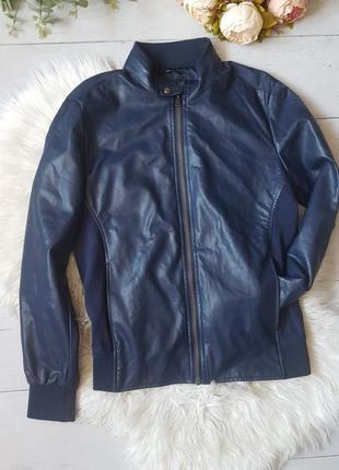 Кожаный пиджак1 фото