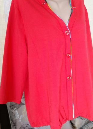 Стильный жакет премиального бренда lucia из вискозы на 52-54