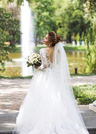 Свадебное платье, тренд 2019