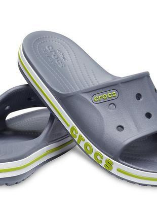 Стильные шлепанцы bayaband slide м10, m11 crocs