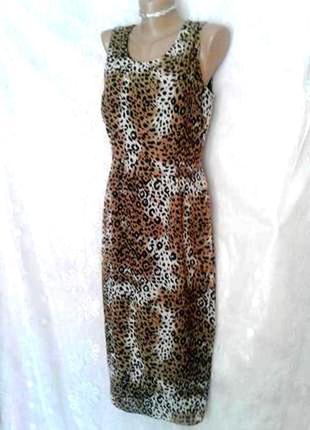 Платье с леопардовым принтом, l2 фото