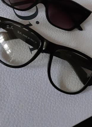 Очки имиджевые прозрачные ray ban