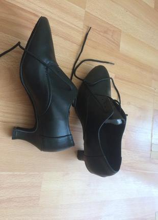 Туфли для танцев новые кожаные продам