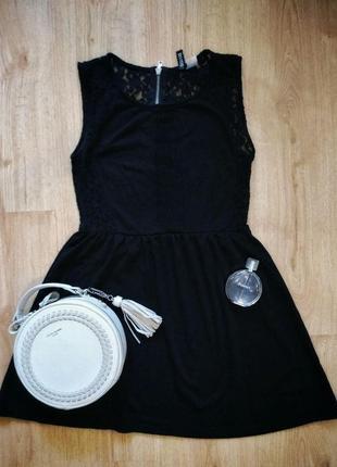 Черное маленькое платье h&m