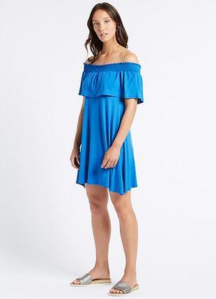 Marks & spenser платье с открытыми плечами, s