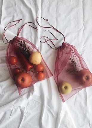 Эко-пакеты, мешочки, фруктовки🍒