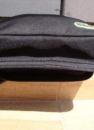 Фірмова багатофункціональна сумка кросбоді,сумка -гаманець lacoste. оригінал!!!!5 фото