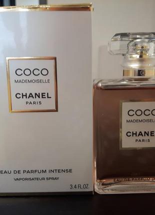 Chanel coco mademoiselle intense edp 100ml оригинал