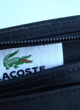 Фірмова багатофункціональна сумка кросбоді,сумка -гаманець lacoste. оригінал!!!!8 фото