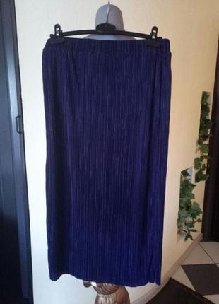 Длинная,прямая юбка плиссе,гофре