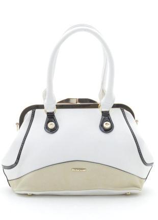 Женская сумка l. pigeon 66046 white