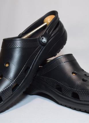 Кроксы сабо crocs classic. италия. оригинал.