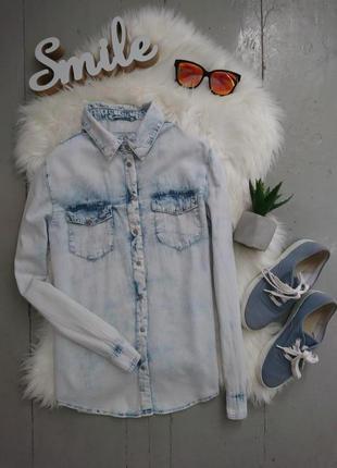 Актуальная джинсовая рубашка №31