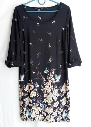 Платье с цветочным принтом. f&f