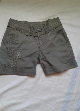 Коттоновые легкие шорты