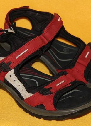 Босоножки, сандалии ecco р.39 стелька 25 см