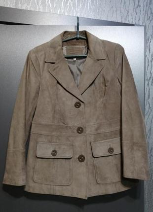 Замшевый жакет куртка пиджак турция