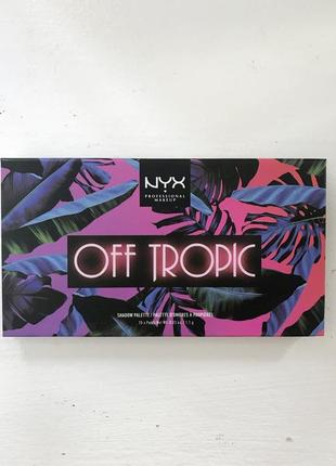 Новые тени nyx off tropic