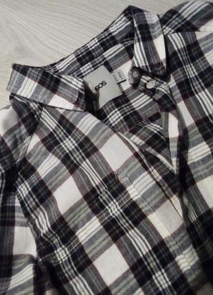 Брендовая рубашка клетка asos