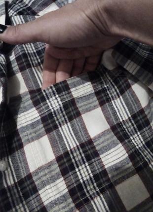 Брендовая рубашка клетка6 фото