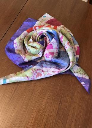 Шелковый платок италия