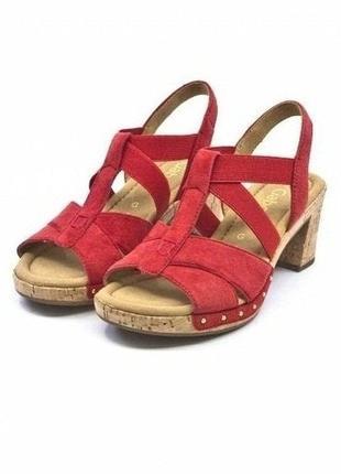 Gabor comfort оригинал! босоножки повыш-го комфорта, натур кожа! большой ассортимент обуви