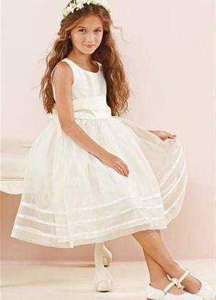 Платье next. размер 128 (8 лет).