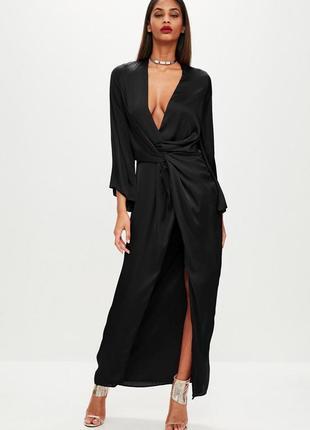 Крутое платье кимоно макси от missguided