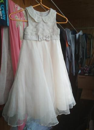 Нарядное платье bhs wedding. размер 104 (4 года).