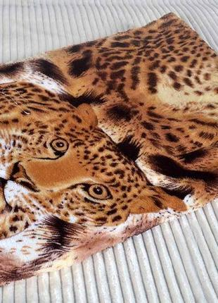 Покрывало полуторное леопард