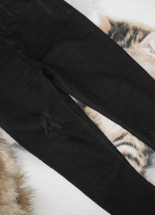 Укороченные джинсы риверы  в облипочку высокая посадка     38 р.