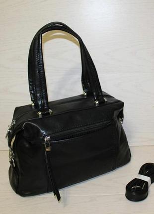 Новая кожаная женская сумка