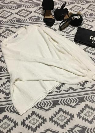 Объемный свитер оверсайз с бомбическими рукавами7 фото