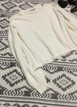 Объемный свитер оверсайз с бомбическими рукавами9 фото