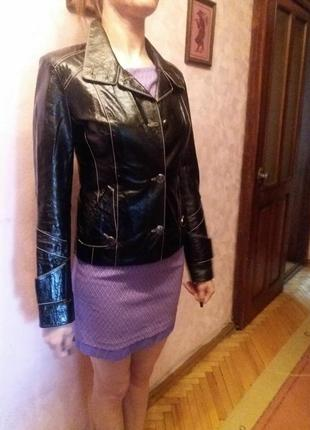 Шкіряна курточка